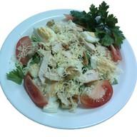 Цезарь студенческий салат Фото