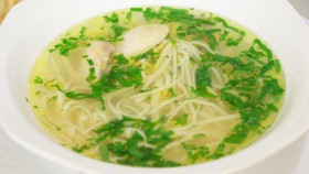 Суп-лапша по-домашнему с курицей - Фото
