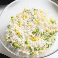 Рис с кукурузой и горошком Фото