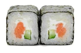 Сливочный ролл с лососем - Фото