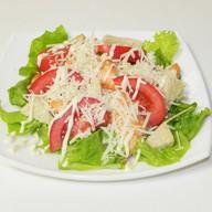 Цезарь с семгой салат Фото