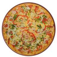 Пицца с куриным шашлыком Фото
