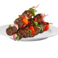 Шашлык свиной с овощами Фото