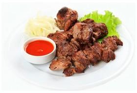 Шашлык из свинины (готовится на углях) - Фото