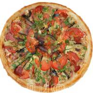 Пицца с баклажаном Фото