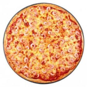 Пицца с креветками - Фото