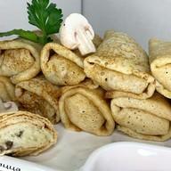 Блины с картофелем и грибами Фото
