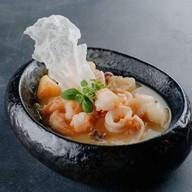 Сотэ с морепродуктами Фото