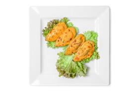 Запеченные мидии с острым соусом - Фото