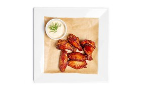 Крылья куриные BBQ - Фото