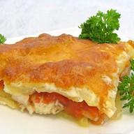 Рыба запечённая в духовке с картофелем Фото