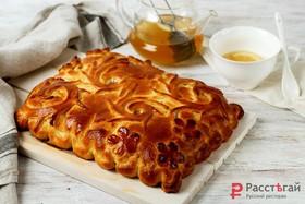 Пирог с чёрной смородиной - Фото