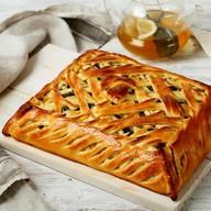 Пирог с грибами и картофелем под сыром Фото