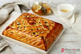 Пирог с грибами и картофелем под сыром - Фото