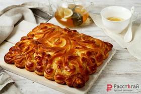 Пирог с яйцом и капустой - Фото