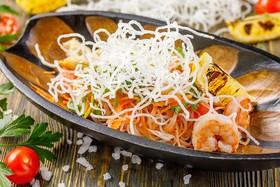 Пхукетский салат с морепродуктами - Фото