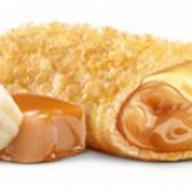 Пирожок банан-карамель Фото