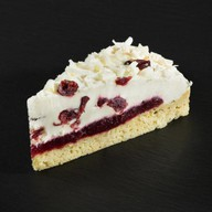 Брусничный торт Фото
