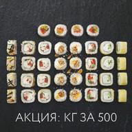 Килограмм роллов за 500 Фото
