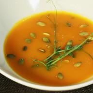 Суп-крем из тыквы со сливками, семечками Фото