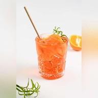 Апероль шприц безалкогольный коктейль Фото