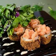Tartar roll, лосось Фото