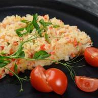 Рис в сливочном соусе с овощами Фото