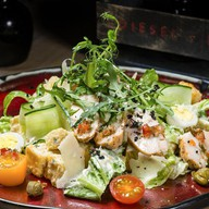 Цезарь с куриным филе салат Фото