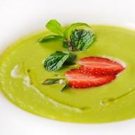 Крем-суп из авокадо и сельдерея Фото