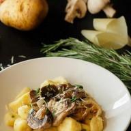 Картофельные ньокки с грибами Фото