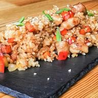 Рис с семгой Фото