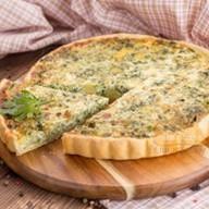Французский пирог с овощами Фото