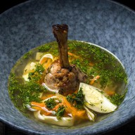 Домашний суп-лапша Фото