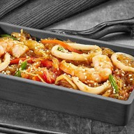 Фунчоза с морепродуктами Фото