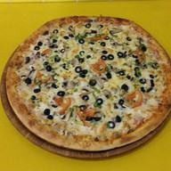 Браш пицца (мясное ассорти) Фото