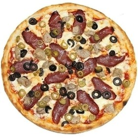 Пицца с бастурмой - Фото