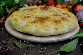 Осетинский пирог с мясом Фыджин - Фото