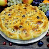 Пирог с яблоками, корицей и орехами Фото