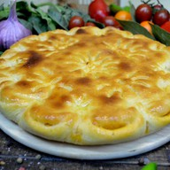 Осетинский пирог с капустой Кабушкаджын Фото