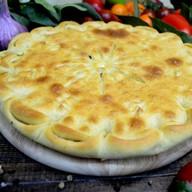 Пирог с грибами, картошкой и сыром Фото