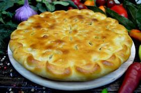 Осетинский пирог с картошкой Картофджин - Фото