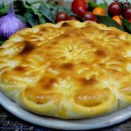 Пирог с капустой и сыром Фото