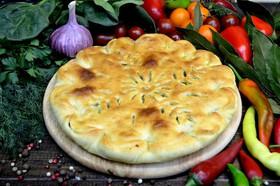 Пирог с сыром и шпинатом - Фото