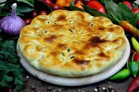 Осетинский пирог с листьями свеклы - Фото