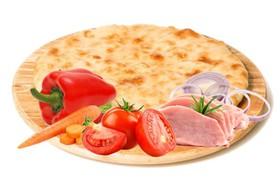 Осетинский пирог с мясом и овощами - Фото