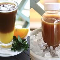 Кофе с апельсиновым соком Фото