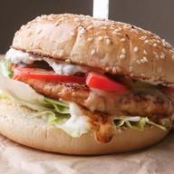 Куриный бургер Фото