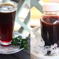 Кофе с гранатовым соком Фото