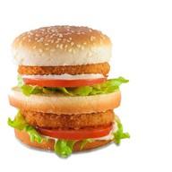 Двойной чикенбургер Атлант Фото