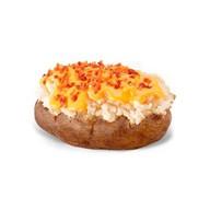 Картофель с арахисовой начинкой Фото
